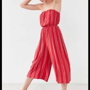 URBAN OUTFITTERS -Silence + Noise Jackson Strapless Culotte Jumpsuit